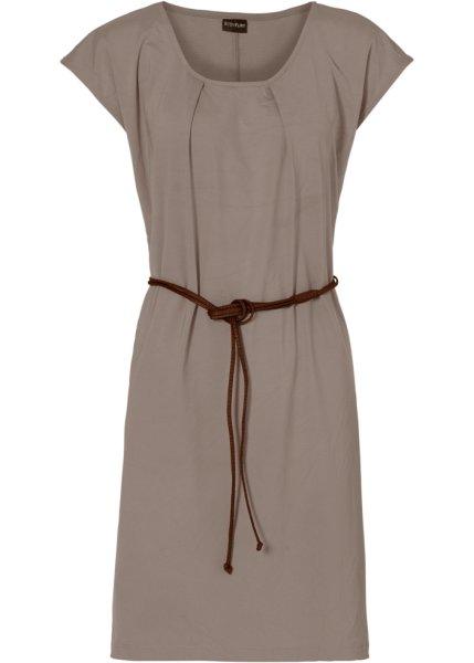 Trikåklänning