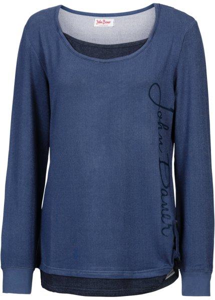 Bonprix SE - Sweatshirt, 2-i-1 look, långärmad 249.00