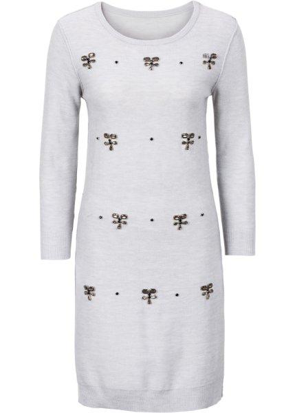 Bonprix SE - Stickad klänning med applikation 359.00