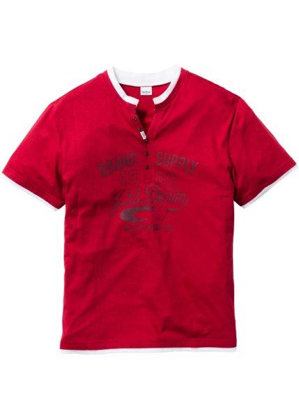 Bonprix SE - T-shirt med Henleykrage, normal passform 149.00