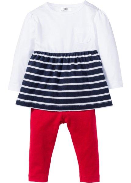 Bonprix SE - Babyklänning + leggings (2 delar), ekologisk bomull 129.00