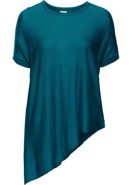 Bonprix SE - Kortärmad tröja med asymmetrisk nederkant 129.00