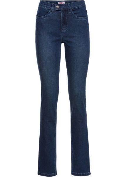 Bonprix SE - Extra mjuka jeans med sidenaktig gylf, normallängd 299.00