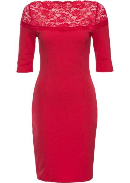 Bonprix SE - Jerseyklänning med spets 299.00