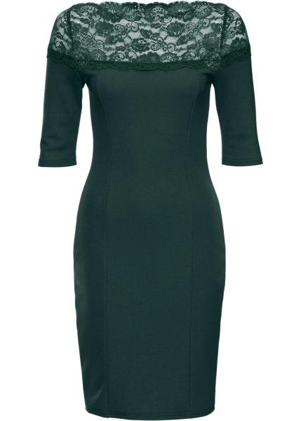 Bonprix SE - Jerseyklänning med spets 279.00