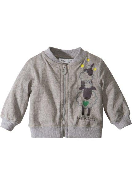 Bonprix SE - Babyjacka i jersey, ekologisk bomull 99.00