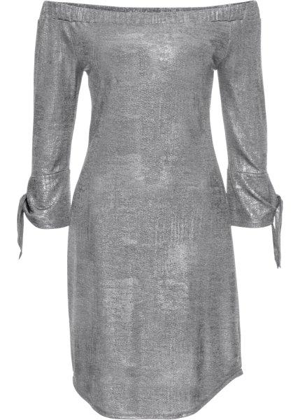 Bonprix SE - Metallic klänning i jersey 279.00
