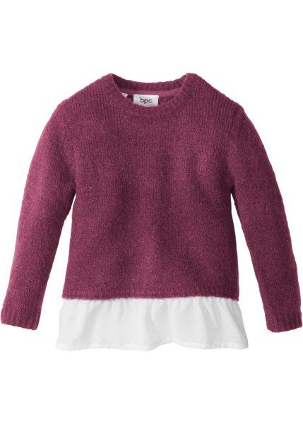Bonprix SE - Stickad tröja med volang 119.00