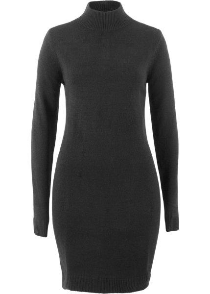 Bonprix SE - Stickad klänning med ståkrage 99.00