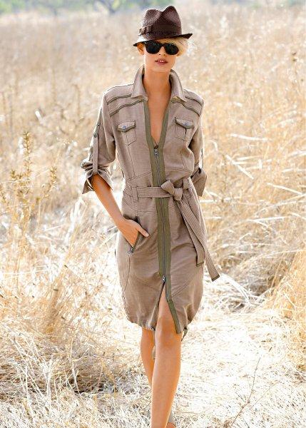 Safariklänning
