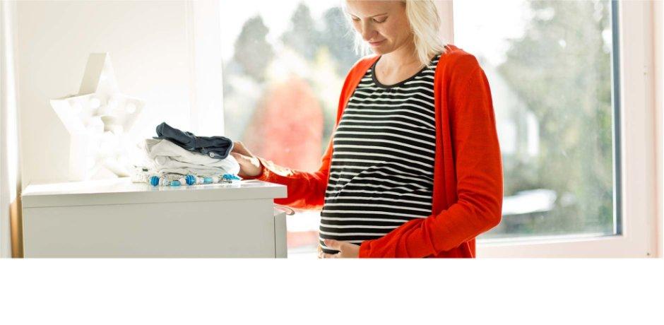Graviditet haka upp
