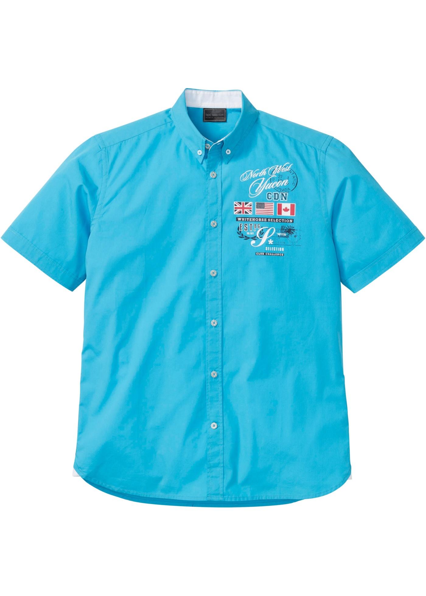 Bonprix - Kort?¤rmad skjorta med tryck 129.00