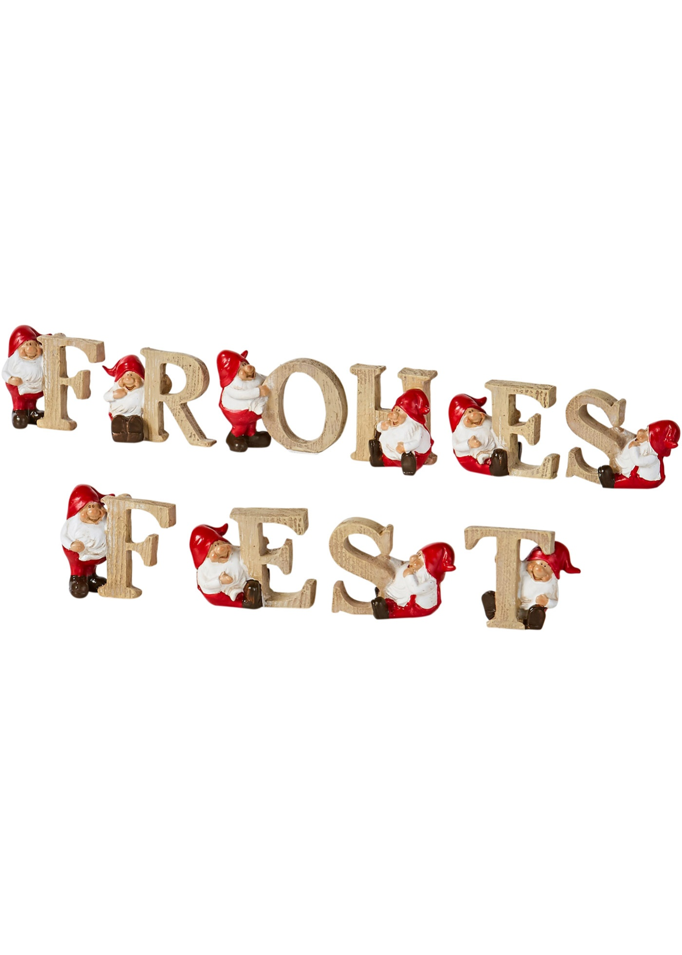 Bonprix - Tomtar Frohes Fest 10 delar 299.00