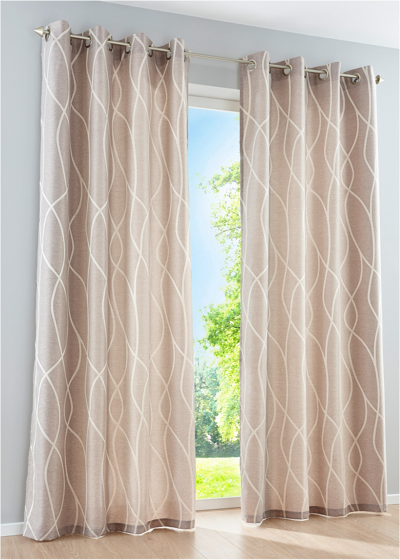 CHAMI CURTAIN Gardin 1-pack