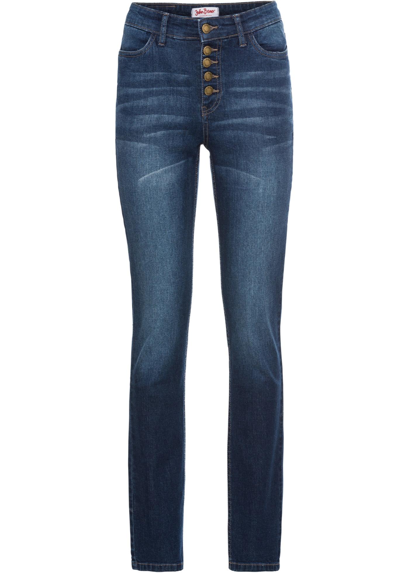 Bonprix SE - Mjuka jeans, smal passform 299.00