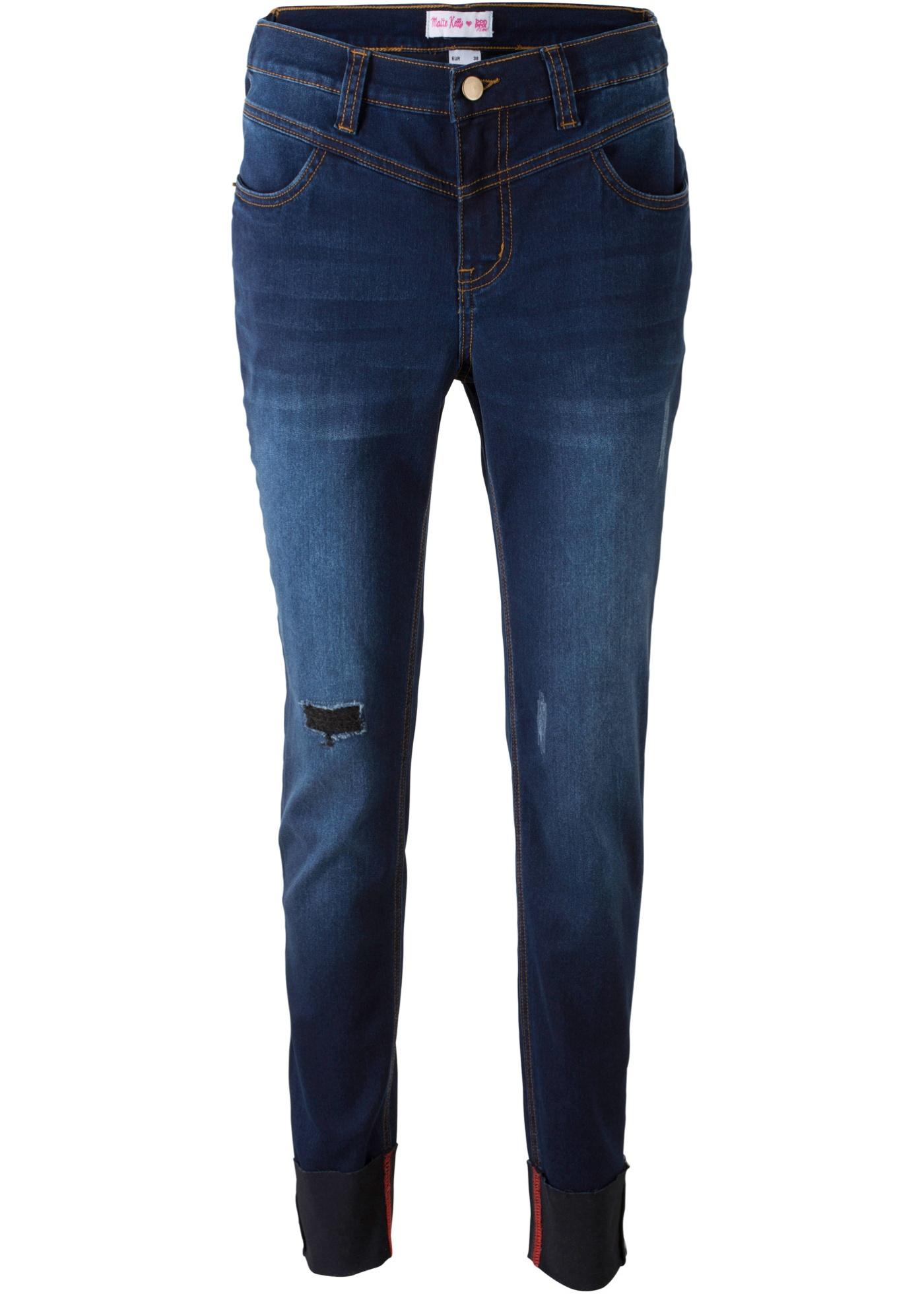 Bonprix SE - Moderiktigt uppvikta jeans – designade av Maite Kelly 349.00