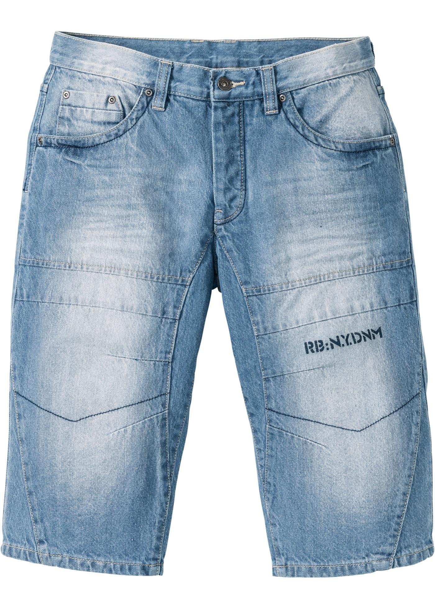 Bonprix SE - Långa jeansbermudas, normal passform 349.00