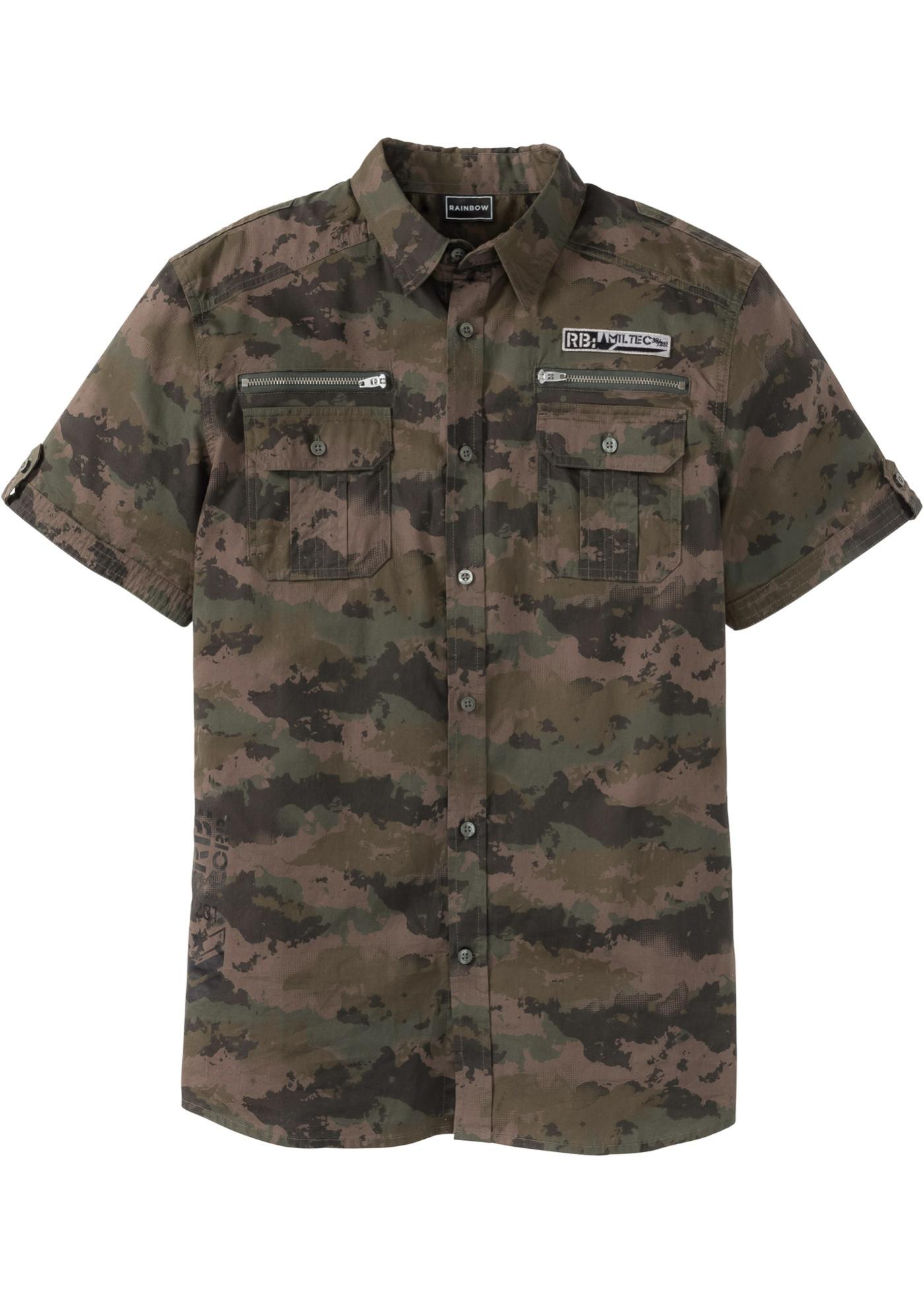 Bonprix SE - Kortärmad skjorta, smal passform 249.00