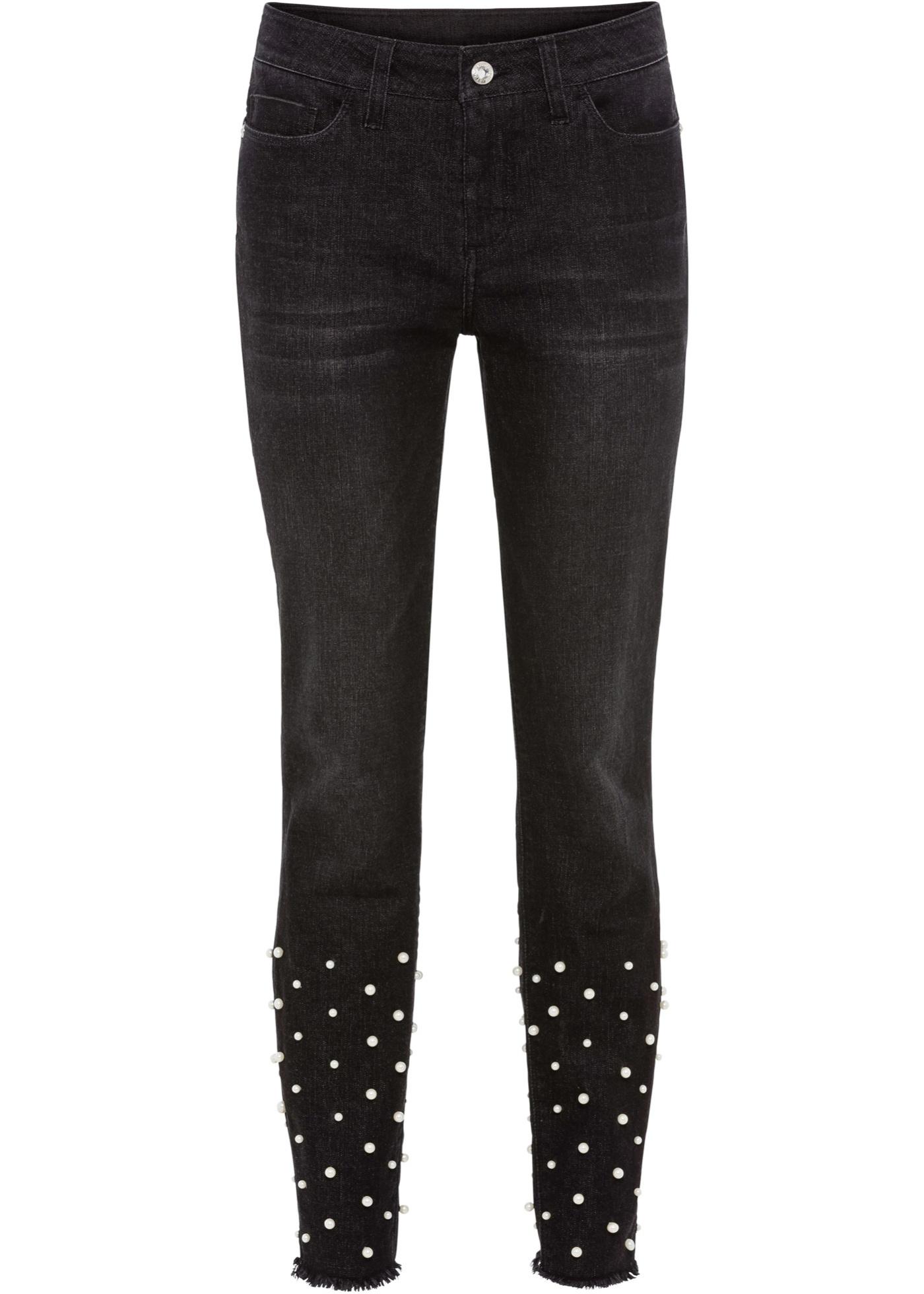 Bonprix SE - Must-have: Jeans med pärlor 199.00