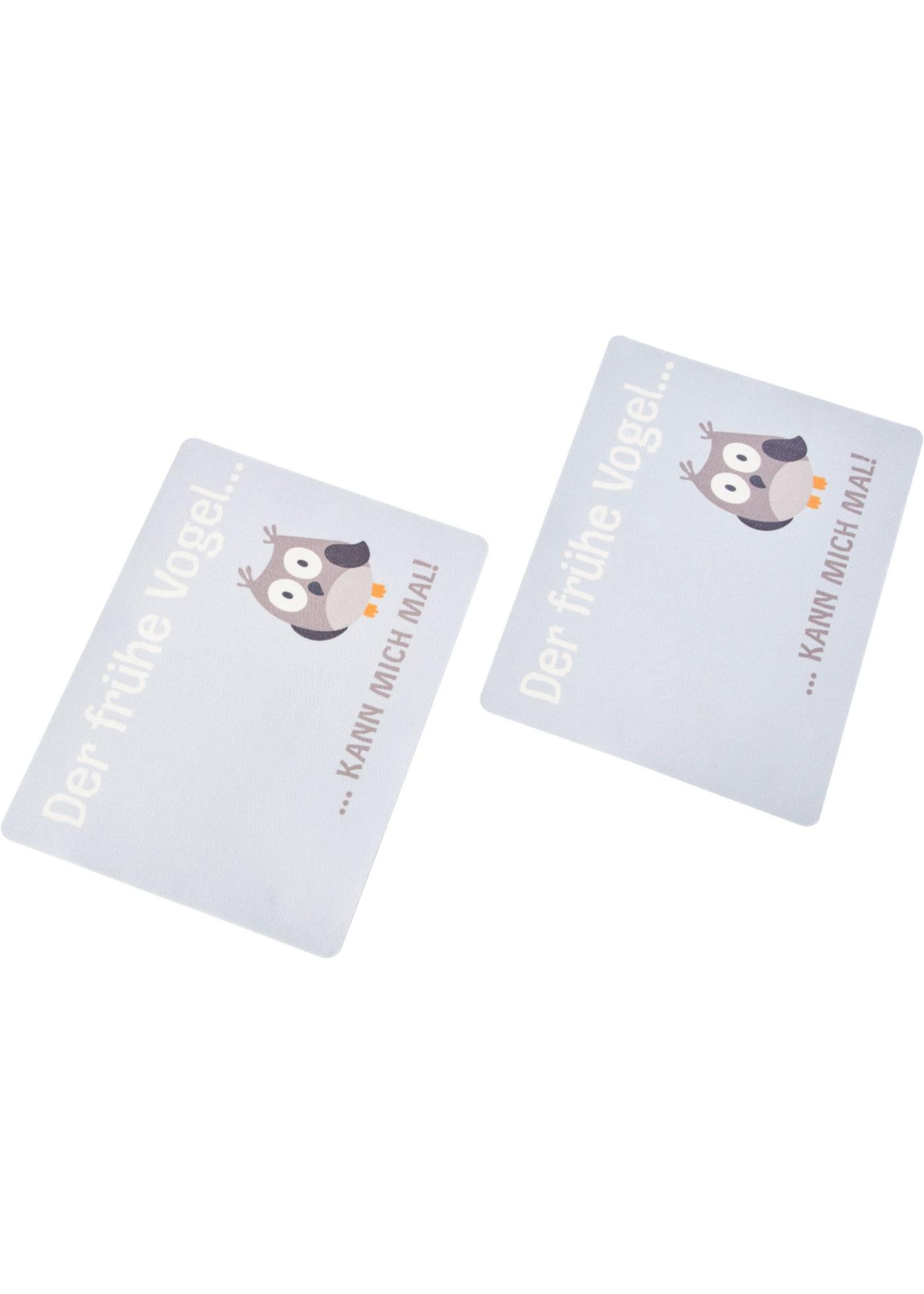 Bonprix SE - Tabletter Uggla med texttryck (2-pack) 89.00