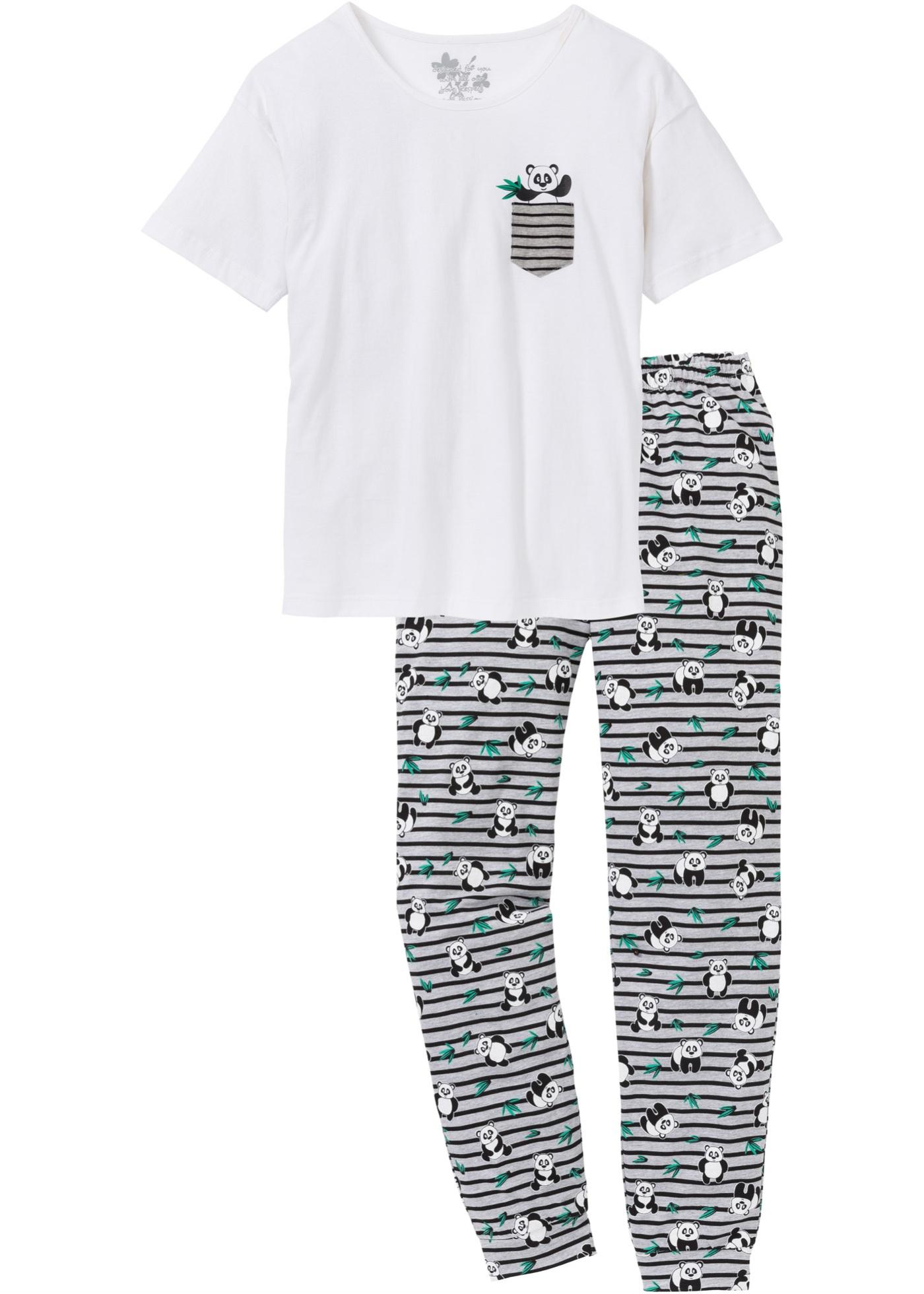 Pyjamas med oversizetröja