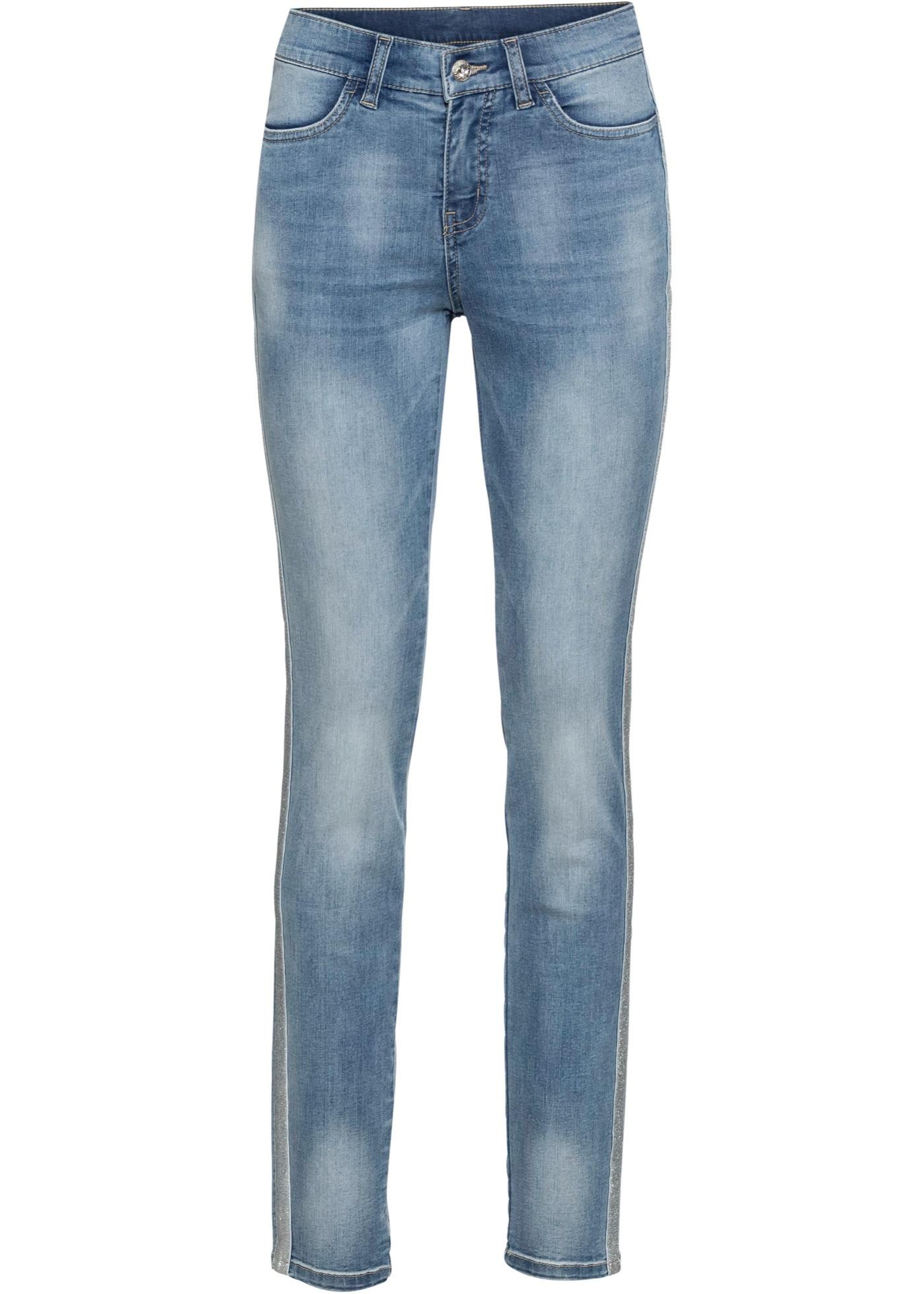 Bonprix - Jeans med glittrigt band i sidorna 449.00