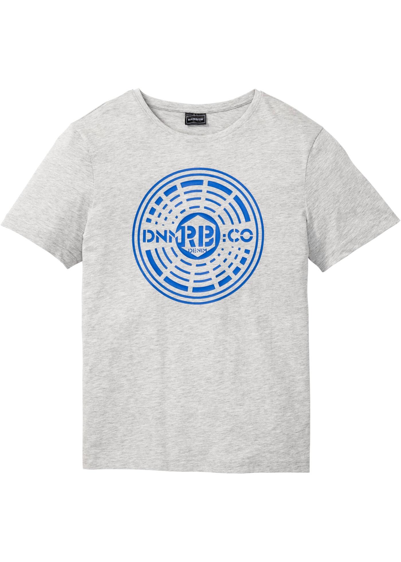 Bonprix - T-shirt med tryck, smal passform 59.00