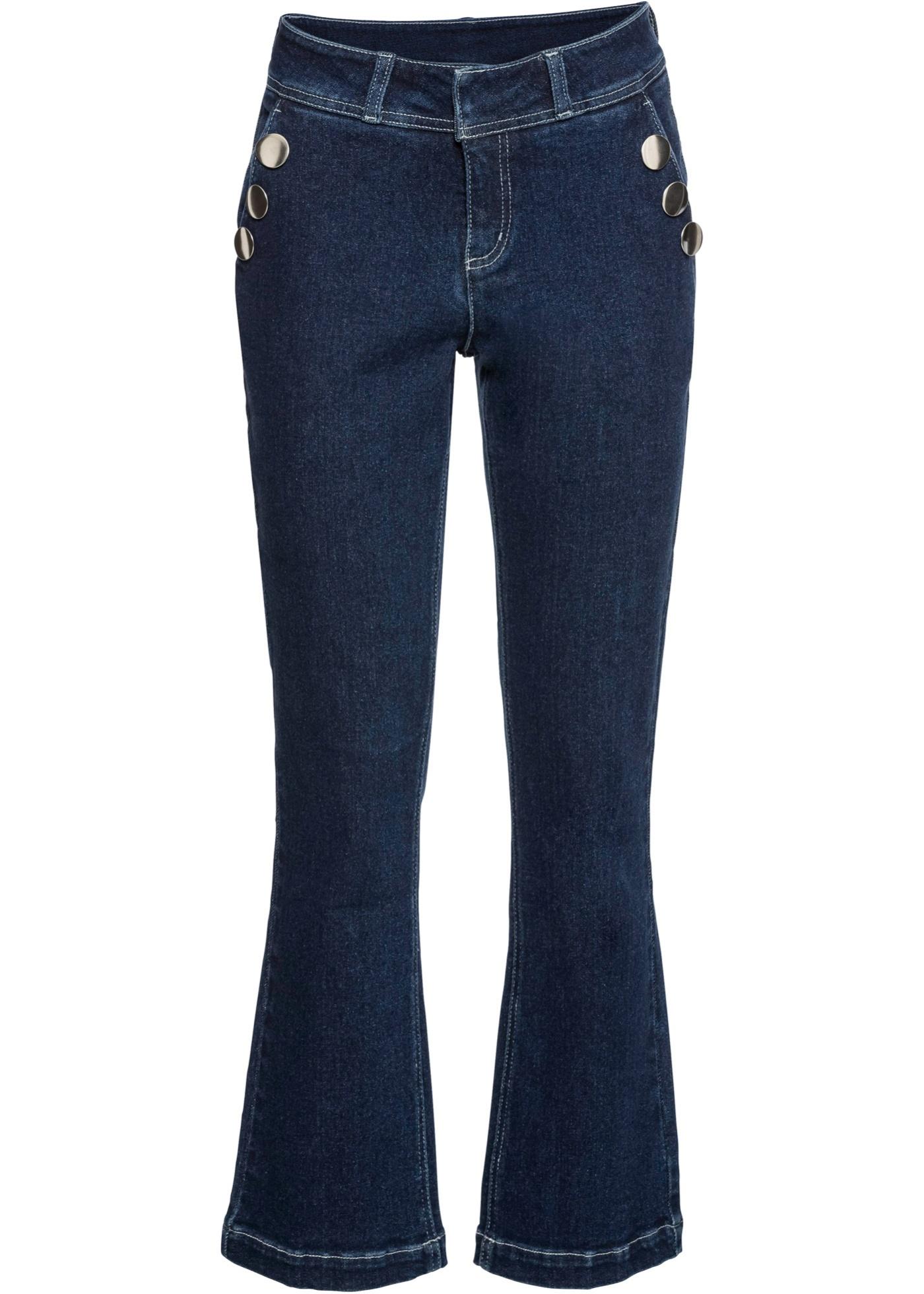 Bonprix - Jeans med dekorativa knappar 299.00