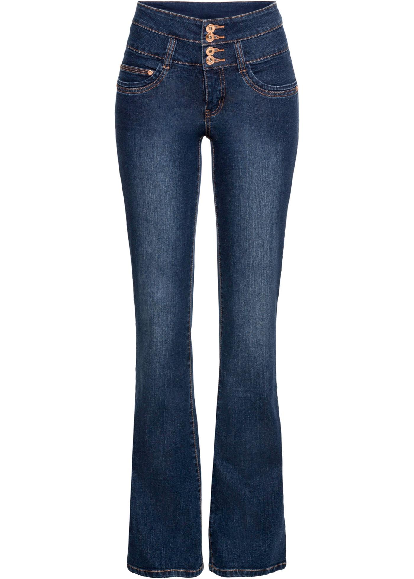 Bonprix - Bootcut-jeans med h??g midja 299.00
