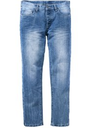 Jeans, regular fit, rakt ben, RAINBOW, blue used