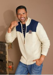 Cardigan, normal passform, John Baner JEANSWEAR, beige