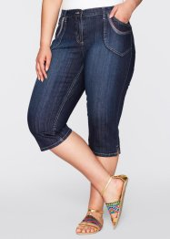 Caprijeans i stretch, bpc bonprix collection, darkblue stone