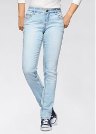 Stretchjeans SKINNY, John Baner JEANSWEAR, light blue bleached used