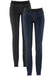 Jeansleggings, 2-pack, John Baner JEANSWEAR