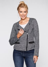 Sweatjacka, bpc bonprix collection, antracitmelerad