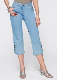 3/4-stretchjeans, bpc selection, blue bleached