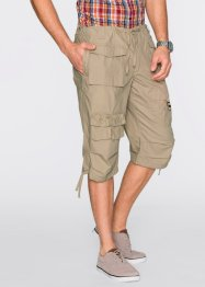 Långa bermudashorts, ledig passform, bpc bonprix collection, beige