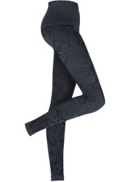 Sömlösa leggings med shapingeffekt, bpc bonprix collection, mönstrad