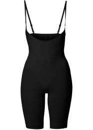 Sömlös formande catsuit, bpc bonprix collection, svart