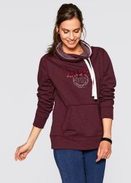 Sweatshirt med polokrage, bpc bonprix collection