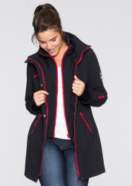 Fritidsjacka i stretch, 2-i-1 look, bpc bonprix collection, svart