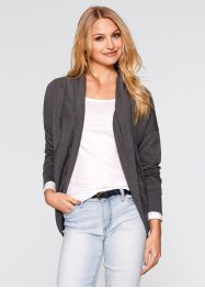 Cardigan i sweatshirttyg, bpc bonprix collection