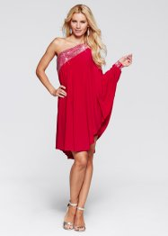 One shoulder-klänning, BODYFLIRT boutique, magenta
