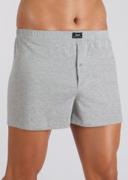 Vida boxershorts (4-pack), bpc bonprix collection, gråmelerade
