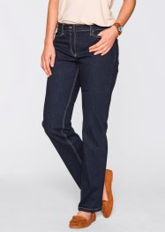 Figurformande stretchjeans, bpc bonprix collection, dark denim