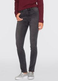 Formande skinnyjeans, RAINBOW, grey denim