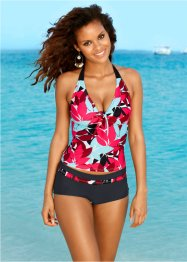 Tankini, bpc bonprix collection, svart/turkos