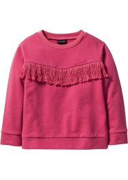Sweatshirt med fransar, bpc bonprix collection