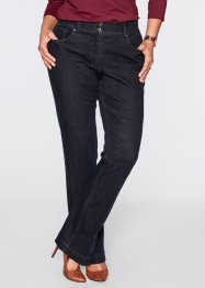 Bootcutjeans med pressveck, bpc selection, dark blue stone
