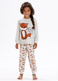 Pyjamas (2-delat set), bpc bonprix collection, naturmelerad